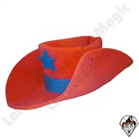 Clowning | Apparel | Hats | Jumbo 30 Gallon Cowboy Hat | Red