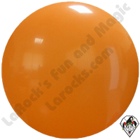Cattex 72 Inch Round Orange Balloon 1ct
