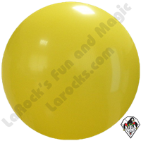 Cattex 72 Inch Round Yellow Balloon 1ct