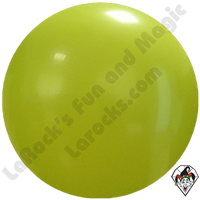 Cattex 72 Inch Round Lime Balloon 1ct