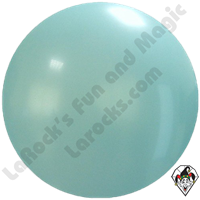 Cattex 72 Inch Round Sky Blue Balloon 1ct