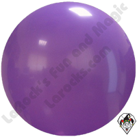 "Cattex 72"" Round Purple Violet Balloon 1ct"