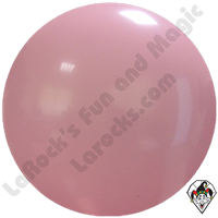 "Cattex 72"" Round Pink/Rose Balloon 1ct"