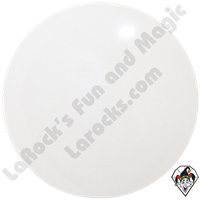 Cattex 72 Inch Round White Balloon 1ct