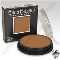 StarBlend Cake Makeup Medium Tan 2oz by Mehron