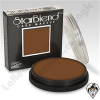 StarBlend Cake Makeup Light Ebony 2oz by Mehron