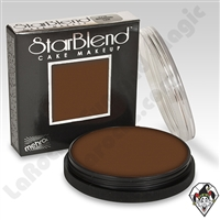 StarBlend Cake Makeup Medium Ebony 2oz by Mehron