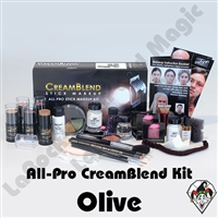 All-Pro CreamBlend Olive Makeup Kit Mehron