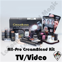 All-Pro CreamBlend TV/Video Makeup Kit Mehron
