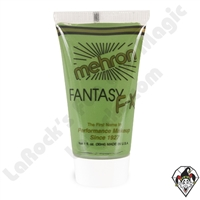 Mehron Fantasy F/X Green 1 oz (28 ml) Green