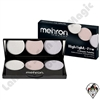 Mehron Highlight Pro Cool 3 Shade Palette