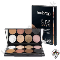 E.Y.E Powder 8 Color Palette Matte Mehron
