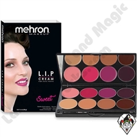 L.I.P Cream 8 Color Sweet Palette Mehron