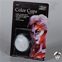 Mehron Color Cups White