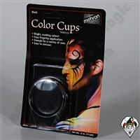 Mehron Color Cups Black
