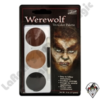 Tri-Color Werewolf Make-Up Palette Mehron