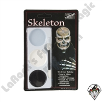 Tri-Color Skeleton Make-Up Palette Mehron