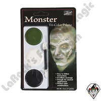 Tri-Color Monster Make-Up Palette Mehron