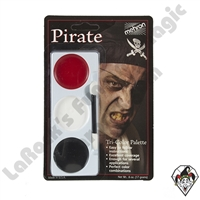 Tri-Color Pirate Make-Up Palette Mehron