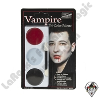 Tri-Color Vampire Make-Up Palette Mehron