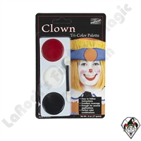 CTri-Color Clown Make-Up Palette Mehron