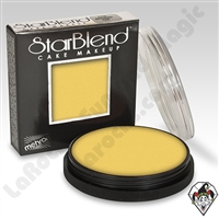 StarBlend Cake Makeup Yellow 2oz by Mehron