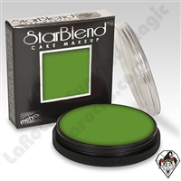 StarBlend Cake Makeup Green 2oz by Mehron
