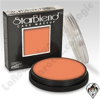StarBlend Cake Makeup Orange 2oz by Mehron