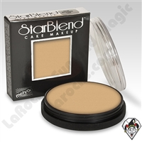 StarBlend Cake Makeup Light Buff 2oz by Mehron