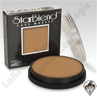 StarBlend Cake Makeup Light Khaki 2oz by Mehron