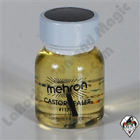 Castor Sealer for Latex w/ Brush Mehron 1 oz.