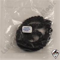 Crepe Hair Black 12 inch Mehron