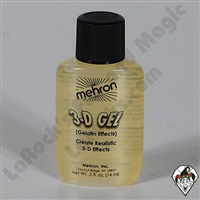 3-D Gel Clear Carded Mehron .5oz