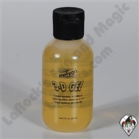 3-D Gel Clear Squeeze Bottle Mehron 2oz