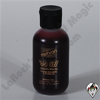 3-D Gel Blood Red Squeeze Bottle Mehron 2oz