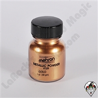 Mehron Metallic Powder Gold