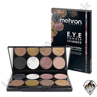 E.Y.E Powder 8 Color Palette Shimmer Mehron