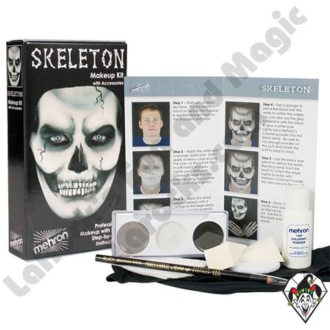 Character Skeleton Makeup Kit Mehron