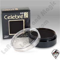 Celebre Pro-HD Cream Black Makeup by Mehron .9oz