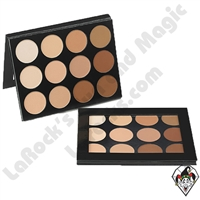 Celebré Pro-HD Cream Foundation 12 Color Contour/Highlight Palette