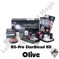 All-Pro Starblend Olive Makeup Kit Mehron