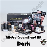All-Pro CreamBlend Dark Complexion Makeup Kit Mehron