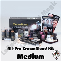 All-Pro CreamBlend Medium Makeup Kit Mehron