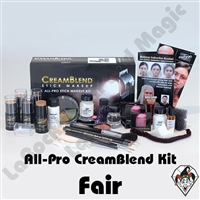All-Pro CreamBlend Fair Makeup Kit Mehron