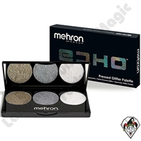 ECHO Pressed 3 Color Glitter Palette Mehron