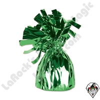 Foil Balloon Weight Green 135 gram 1ct single