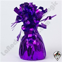 Foil Balloon Weight Purple 135 gram 1ct single