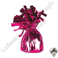 Foil Balloon Weight Rose/Red 135 gram 1ct single