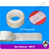 Dot Stickers 100 ct Roll B672