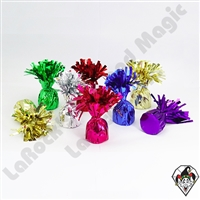 Foil Balloon Weight Assortment 135 gram 12ct box Colors Vary